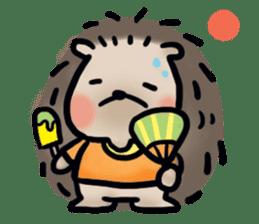 Chubby the hedgehog sticker #526366