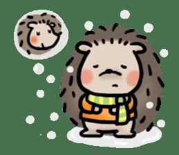 Chubby the hedgehog sticker #526367