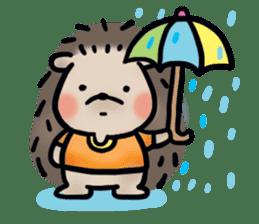 Chubby the hedgehog sticker #526368