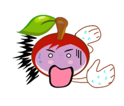 Cherry bite sticker #529168