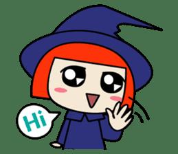 Little witch - Sandra sticker #529370