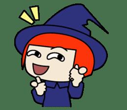 Little witch - Sandra sticker #529371