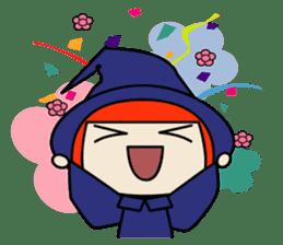 Little witch - Sandra sticker #529373