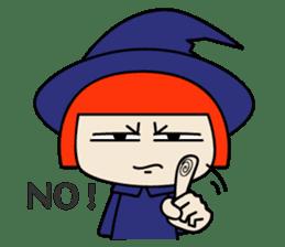 Little witch - Sandra sticker #529375