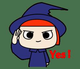 Little witch - Sandra sticker #529376