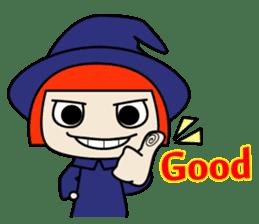 Little witch - Sandra sticker #529378