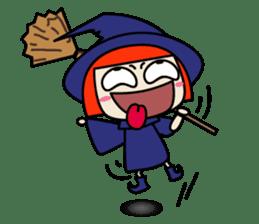 Little witch - Sandra sticker #529379