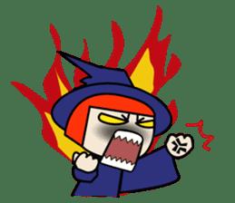 Little witch - Sandra sticker #529380