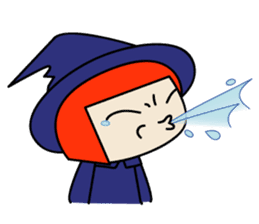Little witch - Sandra sticker #529383