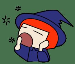 Little witch - Sandra sticker #529384