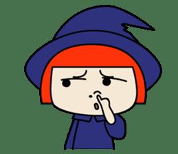 Little witch - Sandra sticker #529386