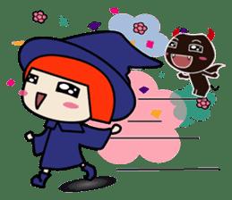 Little witch - Sandra sticker #529387