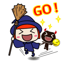 Little witch - Sandra sticker #529389