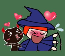 Little witch - Sandra sticker #529390