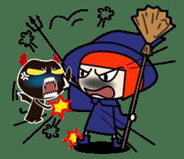 Little witch - Sandra sticker #529391