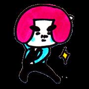 สติ๊กเกอร์ไลน์ Dancing Tofu Higenomori