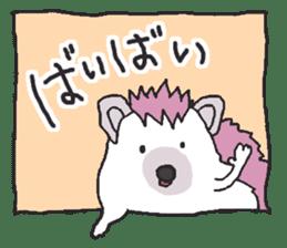 Hedgehogs Haribo family Japanese Ver. sticker #531254