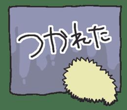Hedgehogs Haribo family Japanese Ver. sticker #531262