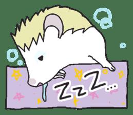 Hedgehogs Haribo family Japanese Ver. sticker #531263