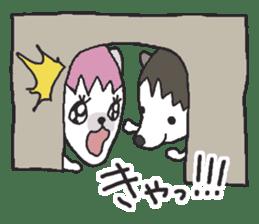 Hedgehogs Haribo family Japanese Ver. sticker #531267