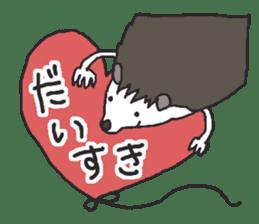 Hedgehogs Haribo family Japanese Ver. sticker #531271