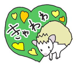 Hedgehogs Haribo family Japanese Ver. sticker #531272