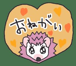 Hedgehogs Haribo family Japanese Ver. sticker #531273