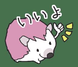 Hedgehogs Haribo family Japanese Ver. sticker #531276