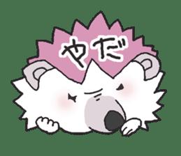 Hedgehogs Haribo family Japanese Ver. sticker #531277