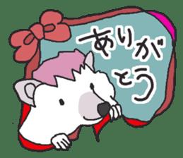 Hedgehogs Haribo family Japanese Ver. sticker #531278