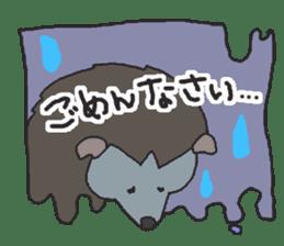 Hedgehogs Haribo family Japanese Ver. sticker #531280