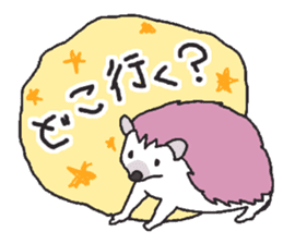 Hedgehogs Haribo family Japanese Ver. sticker #531282