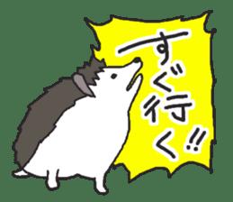 Hedgehogs Haribo family Japanese Ver. sticker #531286