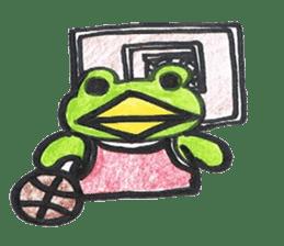 frog place KEROMICHI-AN hobby sticker #531570