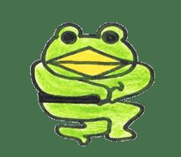 frog place KEROMICHI-AN hobby sticker #531572