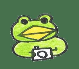 frog place KEROMICHI-AN hobby sticker #531573