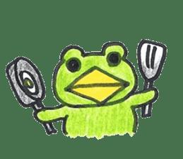 frog place KEROMICHI-AN hobby sticker #531574