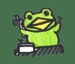 frog place KEROMICHI-AN hobby sticker #531575