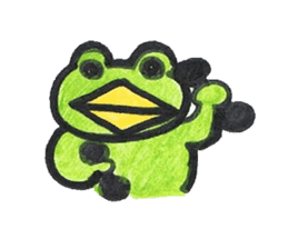 frog place KEROMICHI-AN hobby sticker #531576