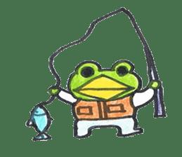 frog place KEROMICHI-AN hobby sticker #531578