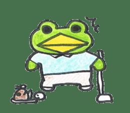 frog place KEROMICHI-AN hobby sticker #531579