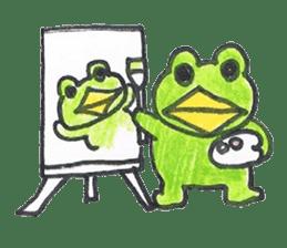 frog place KEROMICHI-AN hobby sticker #531584