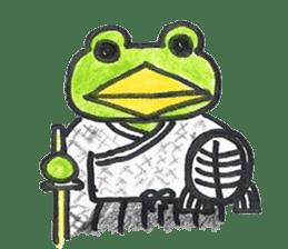 frog place KEROMICHI-AN hobby sticker #531587