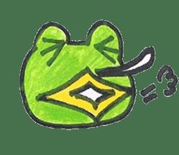 frog place KEROMICHI-AN hobby sticker #531589