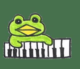 frog place KEROMICHI-AN hobby sticker #531591