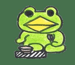 frog place KEROMICHI-AN hobby sticker #531594