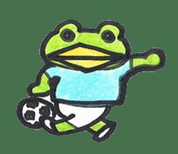frog place KEROMICHI-AN hobby sticker #531596