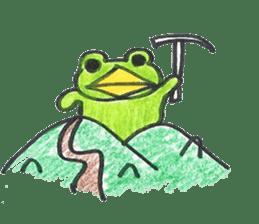 frog place KEROMICHI-AN hobby sticker #531607