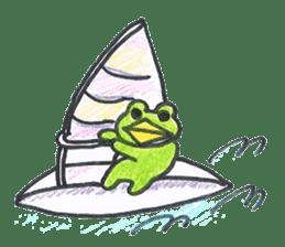 frog place KEROMICHI-AN hobby sticker #531608