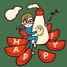 otsumami-girl sticker #531904